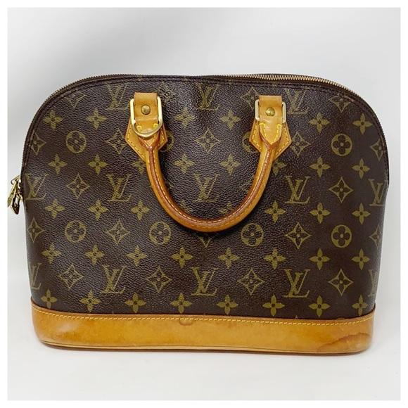 Louis Vuitton Handbags - Authentic Louis Vuitton Alma Satchel